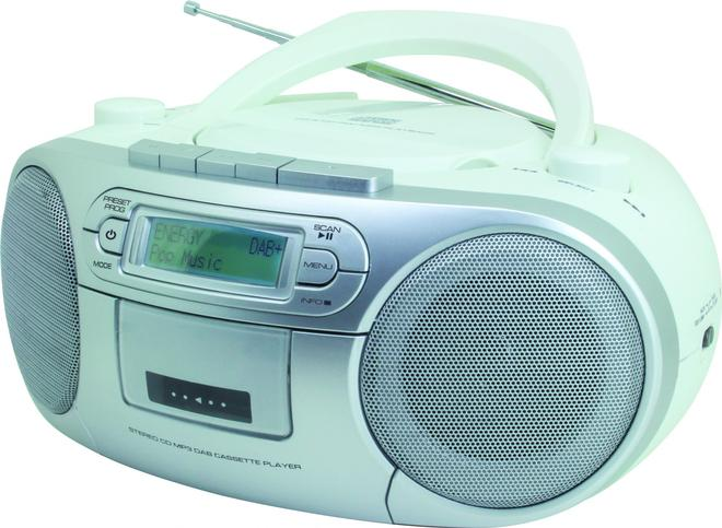 SCD7900WE CD Payer DAB+,FM Radio