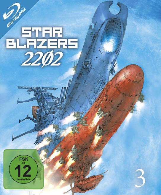 Star Blazers 2202 - Space Battleship Yamato - Vol.3 (BLU-RAY)