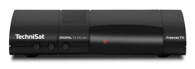 DigiPal T2 HD ex+ DVB-T2 freenetTV Receiver Single-Tuner