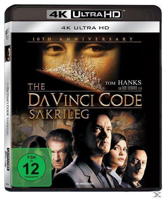 The Da Vinci Code - Sakrileg (4K Ultra HD BLU-RAY)