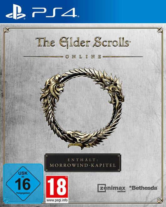 The Elder Scrolls Online (+Morrowind) (PlayStation 4)