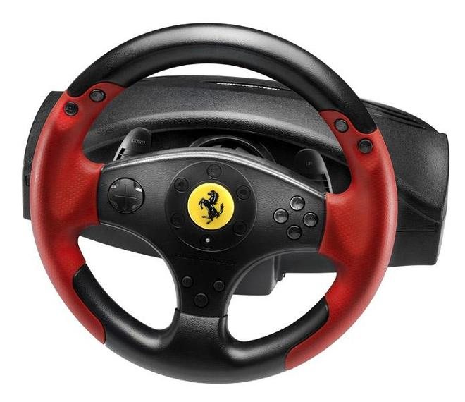 Ferrari Racing Wheel Red Legend PS3&PC Lenkrad