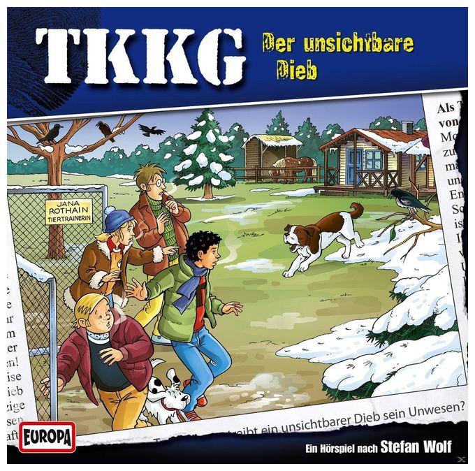 TKKG 185: Der unsichtbare Dieb (CD(s))