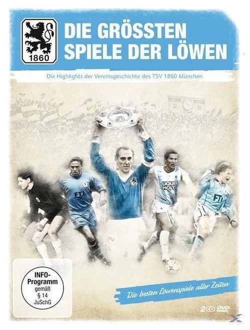 TSV 1860 München - Die größten Spiele der Löwen (DVD)