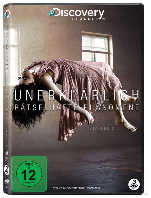 Unerklärlich - Rätselhafte Phänomene - Staffel 2 DVD-Box (DVD)