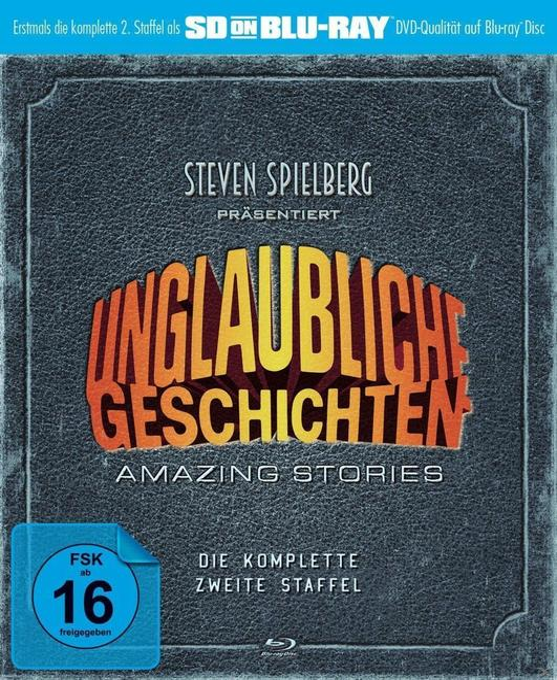 Unglaubliche Geschichten - Amazing Stories - Die komplette zweite Staffel (BLU-RAY)