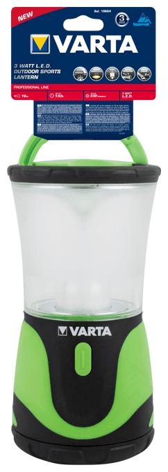 Outdoor Sports Lantern 3D Camping-Lampe 3 Watt High Performance LED