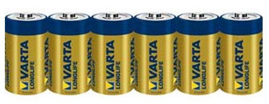 Longlife Extra Baby C 4114 1,5V Batterie Alkali-Mangan 6er Pack