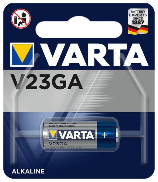 V23GA 12V 50mAh Batterie Alkali-Mangan