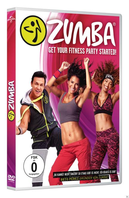 Zumba - Get your Fitness Party Started (DVD)