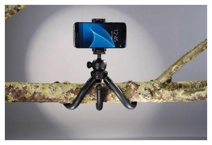 """00004605 Stativ """"FlexPro"""" für Smartphone, GoPro und Fotokameras 27cm"""