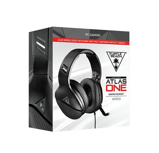 Beach Gaming Headset Atlas One für PS4/Xbox One/PC/NB/Nin Switch Schwarz