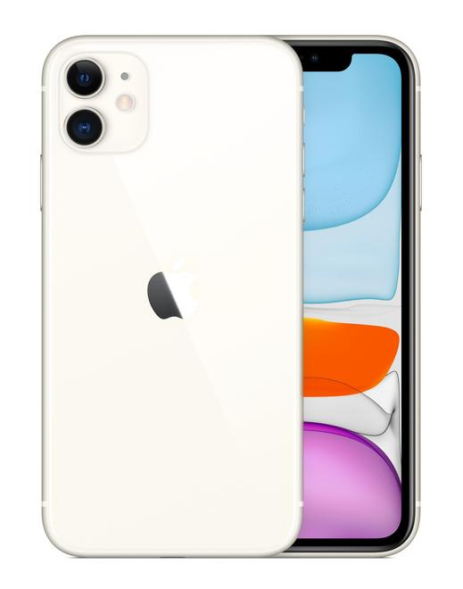 "iPhone 11 Smartphone 15,5cm/6,1"" iOS 12MP 128GB Weiß"
