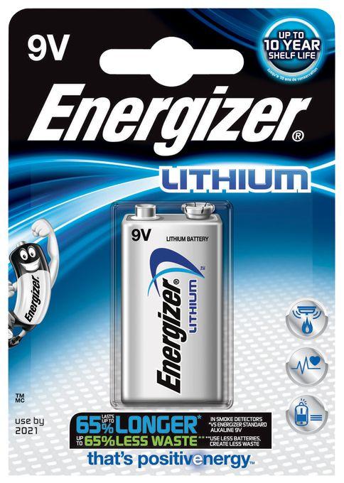 Lithium Batterie 9V 1er-Blister