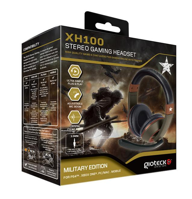 XH-100 Stereo Gaming-Headset (Military Edition)