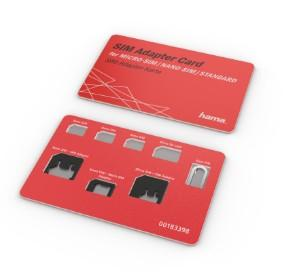00183398 SIM-Karten-Adapter 5-teiliges Set