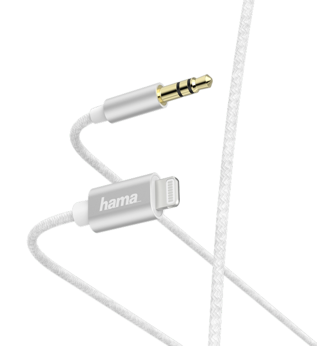 187211 Lightning Kabel 1m Weiß