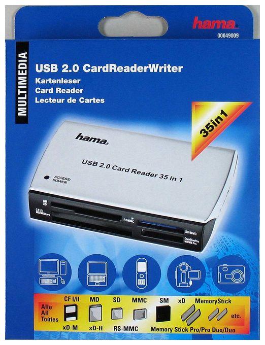 """00049009 USB-2.0-Kartenleser """"65in1"""""""