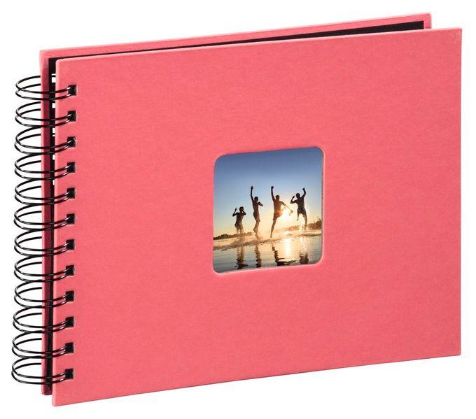 """00002555 Spiral-Album """"Fine Art"""" 24x17cm 50 schwarze Seiten"""