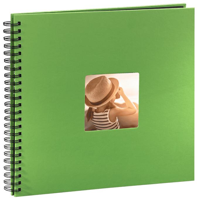 """00094870 Spiral-Album """"Fine Art"""" 36x32cm 50 schwarze Seiten"""