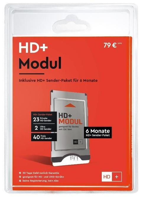 22012 CI+ Modul mit HD+ Karte für 6 Monate