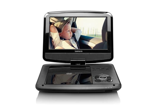 DVP-9413 portabler DVD-Player 22,5cm 9 Zoll USB SD DVB-T2