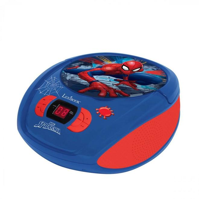 RCD108SP Spider-Man CD-Radiorekorder FM Radio AUX-IN Blau, Rot