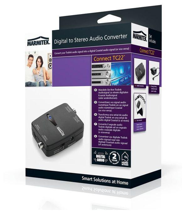 Digital-Analog Audio-Konverter Connect TC22