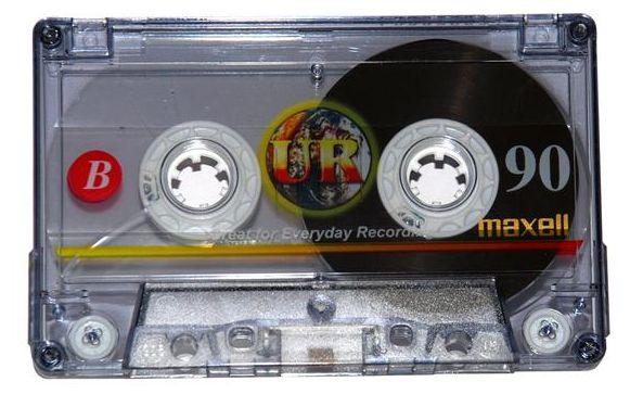 UR-90 Audiokassetten 5er Pack
