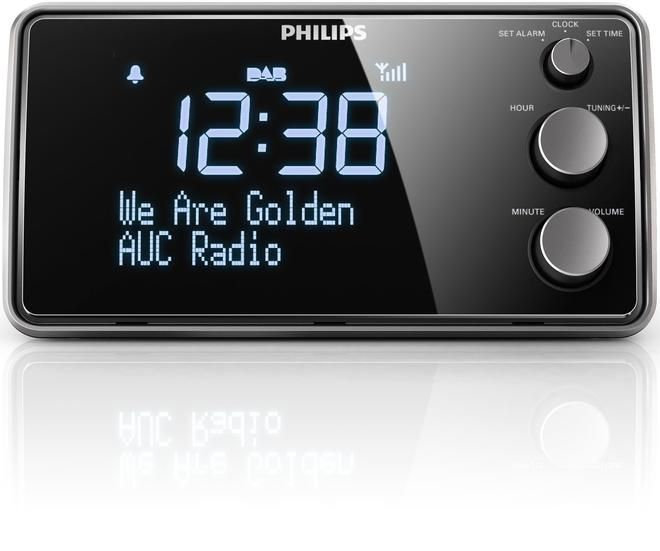 Radiowecker mit Digitalradio AJB3552/12