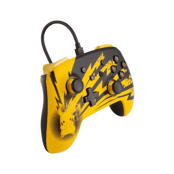 Enhanced Wired Controller Pokémon Pikachu Lightning Analog / Digital Gamepad Nintendo Switch, Nintendo Switch Lite kabelgebunden