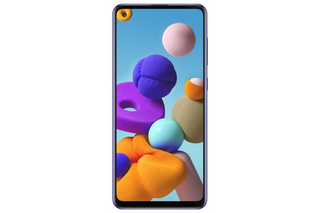 Galaxy A21s 4G Smartphone 16,5 cm (6.5 Zoll) 32 GB 2,0 GHz Android 48 MP Vierfach Kamera Dual Sim