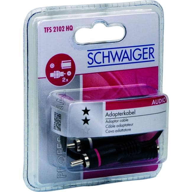 TFS2102HQ 533 HQ AUDIO Adapterkabel: CINCH Stecker > Klinkenbuchse