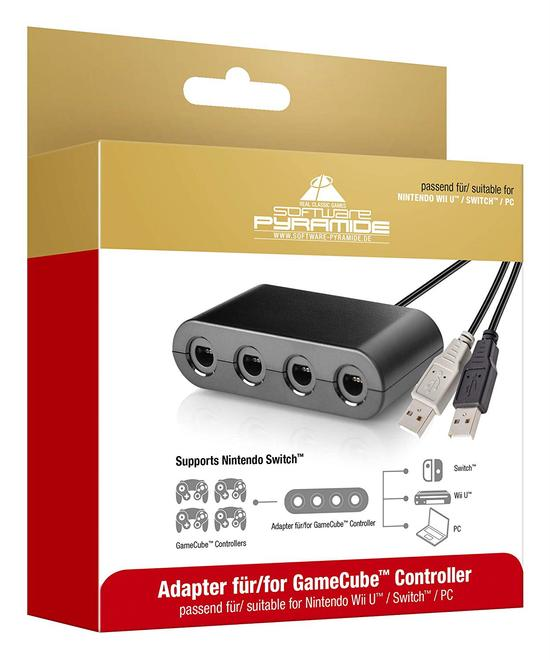 97019 Adapter Nintendo Switch, Nintendo Wii U