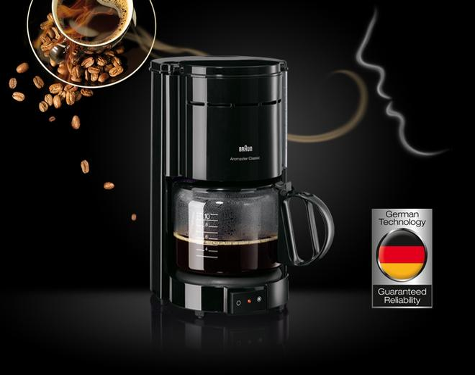 BRAUN KF 47/1 Kaffeeautomat Aromaster Classic
