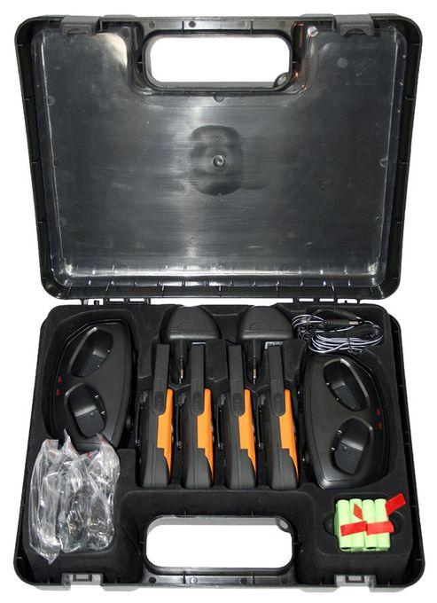Outdoor 8000 Quad Case Funkgeräte 8 Kanäle 9km Reichweite 5 Ruftöne