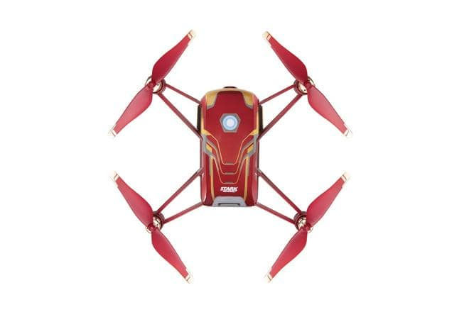 Tello Iron Man Multicopter 13min. 5 Megapixel Fotos Rot