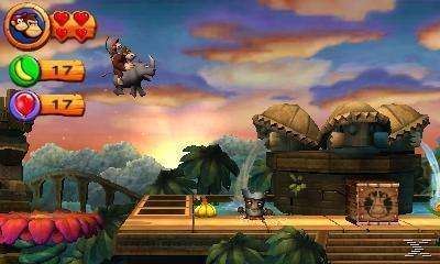 Donkey Kong Country Returns 3D (Nintendo Selects) (Nintendo 3DS)