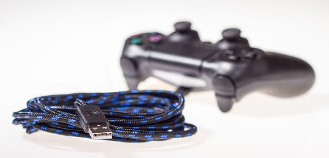 PS4 USB CHARGE: CABLE PRO Ladekabel 4m