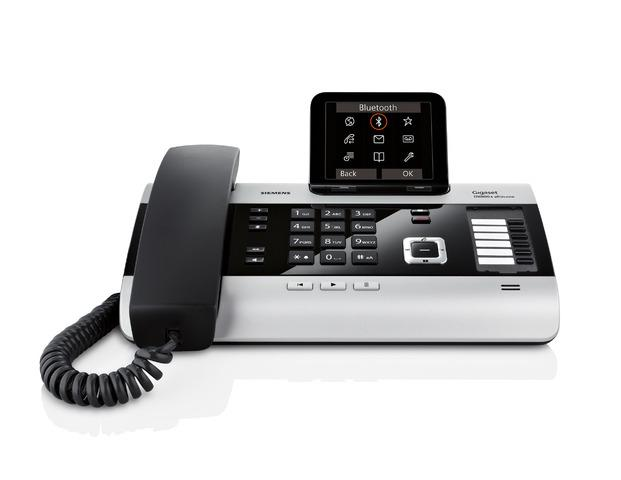 DX800A all in one (VoiP/ISDN/analog) schnurgebundenes Telefon