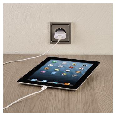 00054567 USB-2.0-Kabel für Apple iPod/iPhone/iPad mit Connector 1,5 m