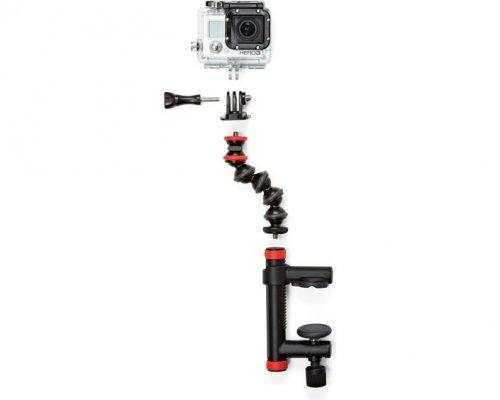 Action Clamp + Gorillapod Arm flexible Halterung für Action Cams