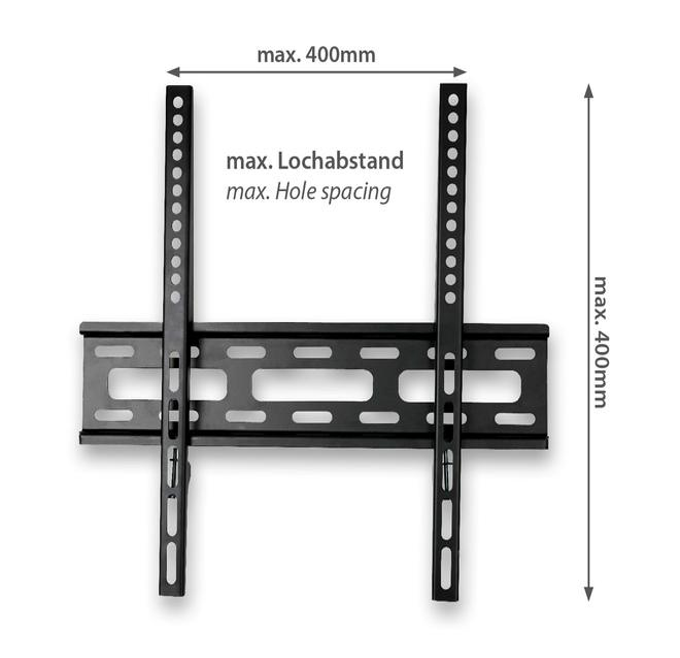 JM400F Wand Halterung bis 139,7 cm (55 Zoll) 30 kg