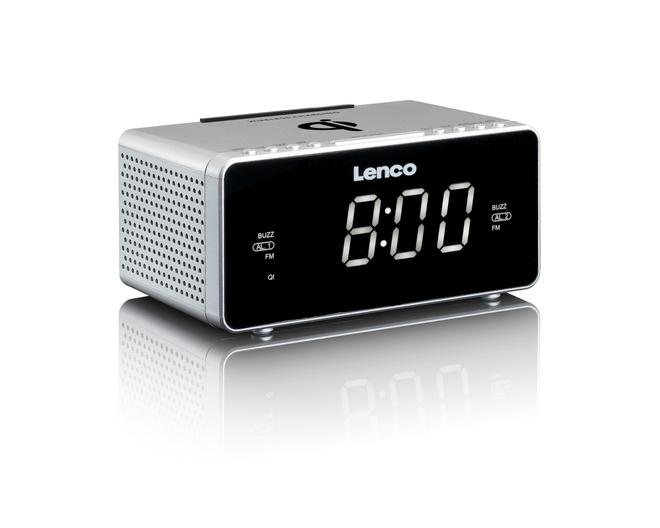 CR-550 (QI) Uhrenradio USB-Ladefunktion AUX-IN Sleeptimer