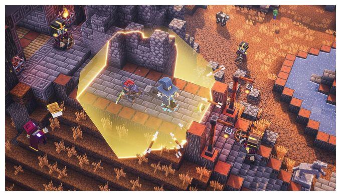 Minecraft Dungeons (Hero Edition) (PlayStation 4)
