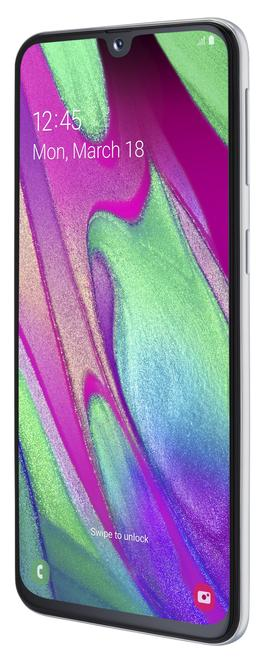 Galaxy A40 14,44cm 64GB Full HD Super AMOLED 25MP