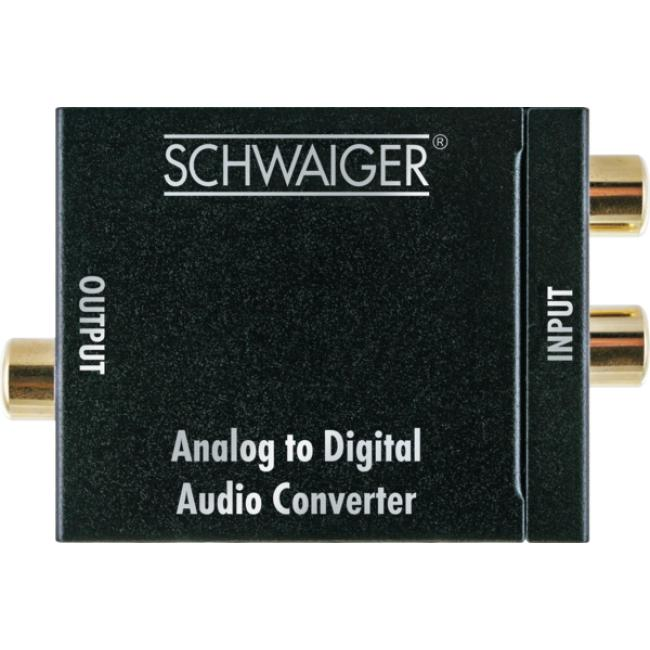 ADW100 513 Audio Konverter Analog-Digital Schwarz