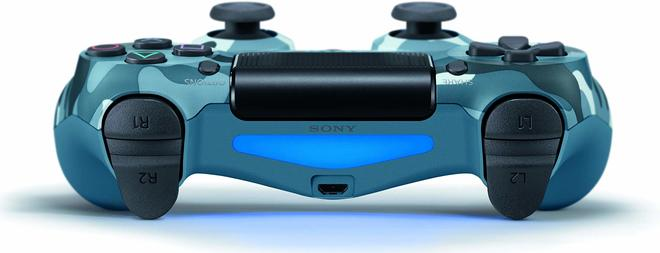 DualShock4 PS4-Controller Blau Camouflage