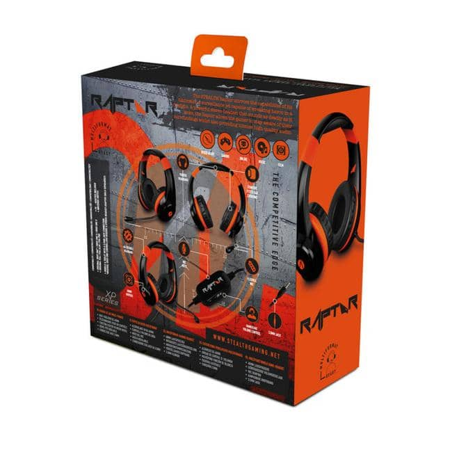 Playstation 4 Headset XP Raptor Stealth