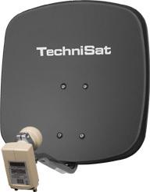DigiDish 45 DigitalSat-Antenne 45cm Universal-Twin-LNB